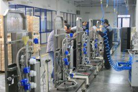 Produktion der Geräte zur Wasseraufbereitung bei InolifeâProduktion der Geräte zur Wasseraufbereitung bei Inolife