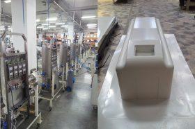 Produktion der Geräte zur Wasseraufbereitung bei Inolife